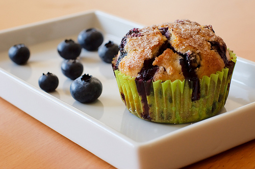 lemon blueberry muffins